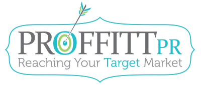 Proffitt PR | Reaching Your Target Market Logo