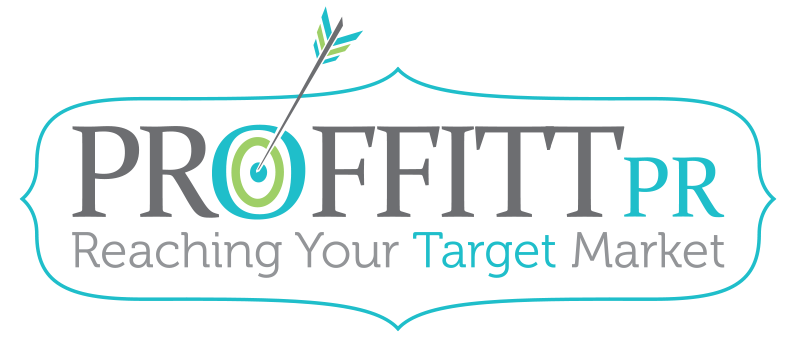 Proffitt PR | Reaching Your Target Market Retina Logo