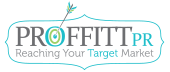 Proffitt PR | Reaching Your Target Market Mobile Logo