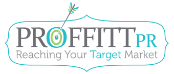 Proffitt PR | Reaching Your Target Market Mobile Retina Logo